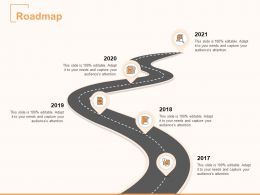 Roadmap Process A877 Ppt Powerpoint Presentation Infographic Template Themes