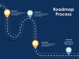 Roadmap Process Attention Ppt Powerpoint Presentation Guidelines