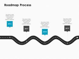Roadmap Process C1016 Ppt Powerpoint Presentation Inspiration Show