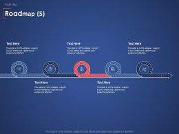 Roadmap Process Communication Ppt Powerpoint Presentation File Files