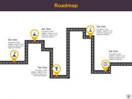 Roadmap Process Five L518 Ppt Powerpoint Presentation Sample