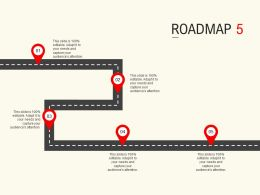 Roadmap Process Five L533 Ppt Powerpoint Presentation Professional Guidelines