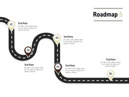 Roadmap Process Five L548 Ppt Powerpoint Presentation Layouts Example