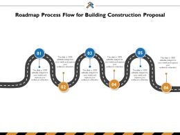 Roadmap Process Flow For Building Construction Proposal Ppt Powerpoint Presentation Summary Outfit