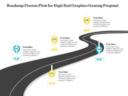 Roadmap Process Flow For High End Graphics Gaming Proposal Ppt Infographics