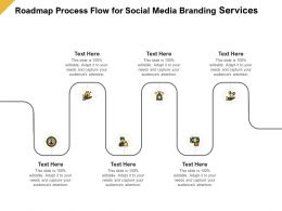 Roadmap Process Flow For Social Media Branding Services Ppt Powerpoint Guide
