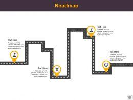 Roadmap Process Four L519 Ppt Powerpoint Presentation File Layouts