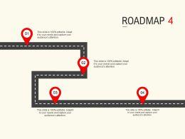 Roadmap Process Four L534 Ppt Powerpoint Presentation Pictures Graphic Images