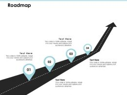 Roadmap Process J198 Ppt Powerpoint Presentation File Inspiration