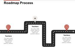 Roadmap Process L112 Ppt Powerpoint Presentation Slides Images