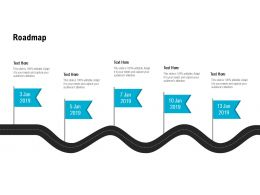 Roadmap Process L509 Ppt Powerpoint Presentation Ideas Graphic Images