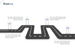 Roadmap Process Planning A1126 Ppt Powerpoint Presentation File Deck