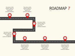 Roadmap Process Seven L535 Ppt Powerpoint Presentation Summary Infographic