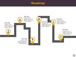 Roadmap Process Six L521 Ppt Powerpoint Presentation Layouts Designs