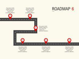 Roadmap Process Six L536 Ppt Powerpoint Presentation Summary Introduction