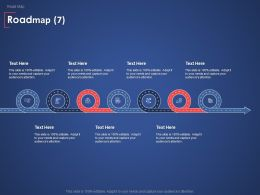 Roadmap Process Strategy Ppt Powerpoint Presentation Model Slide Download