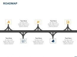 Roadmap Process Technology Ppt Powerpoint Presentation Ideas Format Ideas