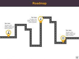 Roadmap Process Three L522 Ppt Powerpoint Presentation Professional Show