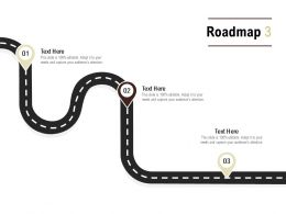 Roadmap Process Three L552 Ppt Powerpoint Presentation Slides Examples