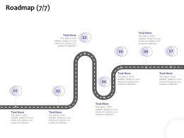 Roadmap Seven Stage L1224 Ppt Powerpoint Presentation Elements