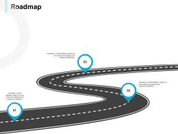 Roadmap Stage Three L568 Ppt Powerpoint Presentation File Shapes