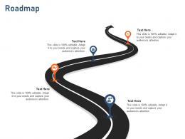Roadmap Standardizing Vendor Performance Management Process Ppt Gallery Clipart
