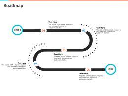 Roadmap Start N259 Powerpoint Presentation Layout Ideas
