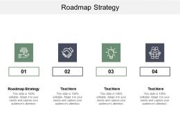 Roadmap Strategy Ppt Powerpoint Presentation Outline Inspiration Cpb