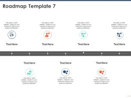 Roadmap Template 7 M218 Ppt Powerpoint Presentation Ideas Example