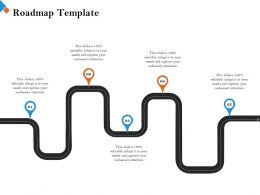 Roadmap Template Attention M2454 Ppt Powerpoint Presentation Professional Templates