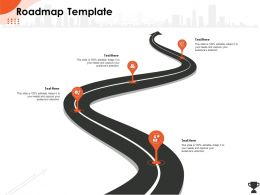 Roadmap Template Attention M543 Ppt Powerpoint Presentation Styles Vector