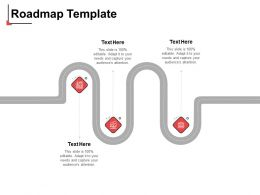 Roadmap Template N27 Ppt Powerpoint Presentation Show Graphics Template