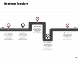 Roadmap Template Rebranding And Relaunching Ppt Portrait