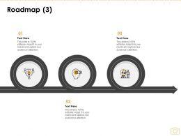 Roadmap Three Process C1144 Ppt Powerpoint Presentation Layouts