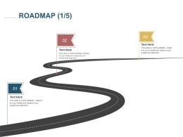 Roadmap Three Process C1231 Ppt Powerpoint Presentation Slides Vector