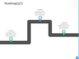 Roadmap Three Process C1234 Ppt Powerpoint Presentation Images