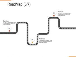Roadmap Three Stage C1288 Ppt Powerpoint Presentation Summary Layouts