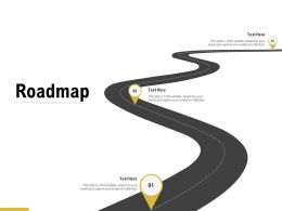 Roadmap Three Stage C1305 Ppt Powerpoint Presentation Ideas Background Images
