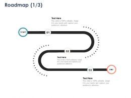 Roadmap Three Stage L1087 Ppt Powerpoint Presentation File