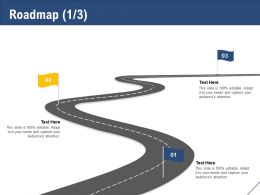 Roadmap Three Stage L1159 Ppt Powerpoint Presentation Gallery