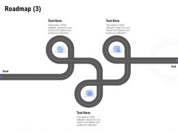 Roadmap Three Stage L1189 Ppt Powerpoint Presentation Styles Themes