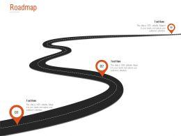 Roadmap Three Stage L1290 Ppt Powerpoint Presentation Designs