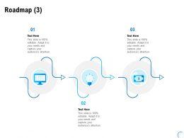 Roadmap Three Stage L948 Ppt Powerpoint Presentation Inspiration Slide