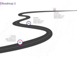 Roadmap Three Stage L978 Ppt Powerpoint Presentation Slides Display