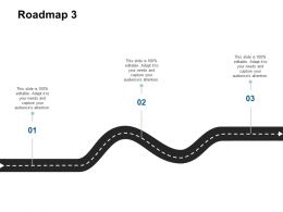Roadmap Three Timeline F446 Ppt Powerpoint Presentation Model Influencers