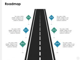 Roadmap Timeline B199 Ppt Powerpoint Presentation File Designs