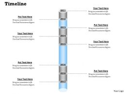 Roadmap Timeline For Success In Business 0314