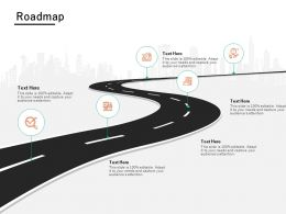Roadmap Timeline L681 Ppt Powerpoint Presentation Summary Graphics Design