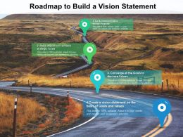 Roadmap To Build A Vision Statement