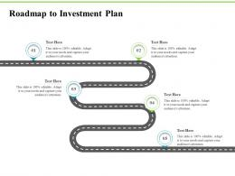 Roadmap To Investment Plan Investment Plans Ppt Show Tips